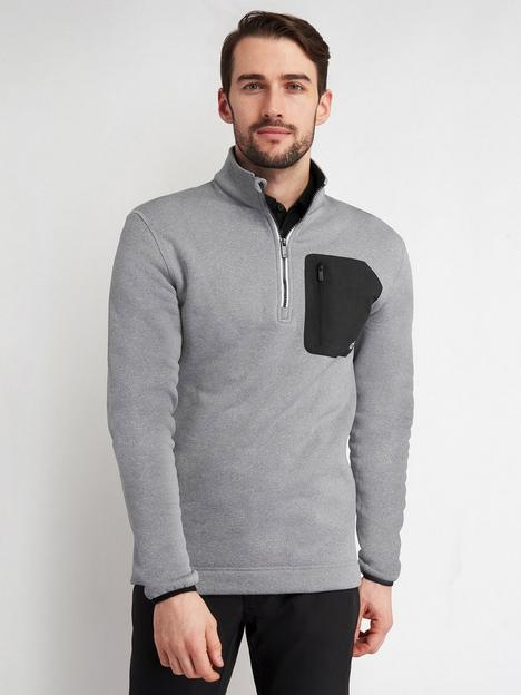 calvin-klein-golf-pinnacle-half-zip-top-grey