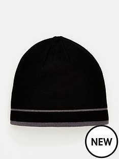 lyle-scott-golf-reversible-beanie-hat-black