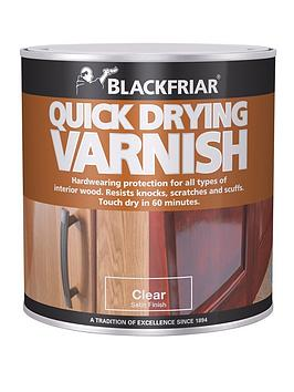 Blackfriar Blackfriar Blackfriar Quick Drying Interior Varnish Clear Satin  ... Picture
