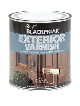 Blackfriar Blackfriar Blackfriar Exterior Varnish Clear Satin 1L Picture