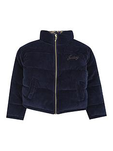 juicy-couture-girls-velour-reversible-padded-coat-navy