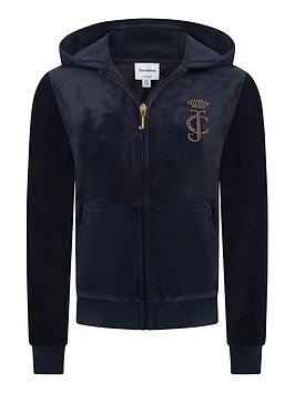 juicy-couture-girls-luxe-velour-diamante-zip-through-navy