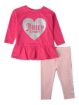 juicy-couture-toddler-girls-frill-hem-t-shirt-and-legging-pink