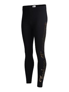 juicy-couture-girls-foil-print-legging-black