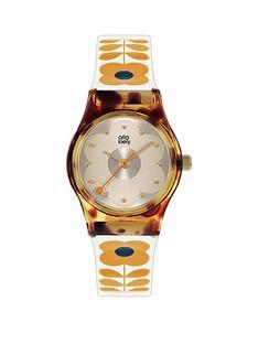 orla-kiely-orla-kiely-mini-bobby-tortoise-shell-case-white-and-tan-stem-print-strap-watch