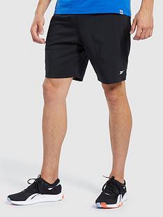 reebok-workout-woven-shorts-black
