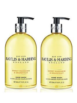 baylis-harding-sweet-mandarin-amp-grapefruit-500ml-hand-wash-duo