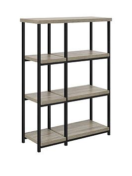 Very Elmwood Bookcase - Grey Oak Effect Picture