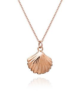 by-river-by-river-rose-gold-plated-sterling-silver-happy-as-a-clam-pendant-necklace