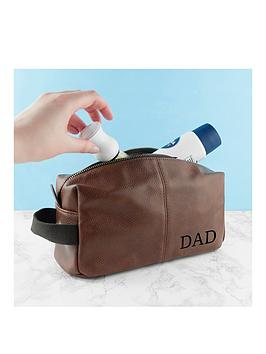 Very Personalised Father'S Day Vintage Style Wash Bag Picture