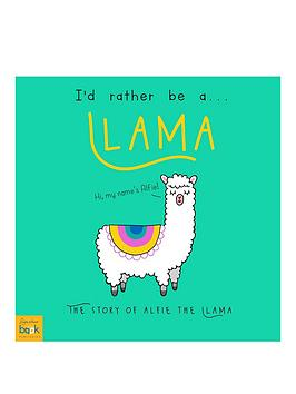 Very Personalised Id Rather Be A Llama Picture