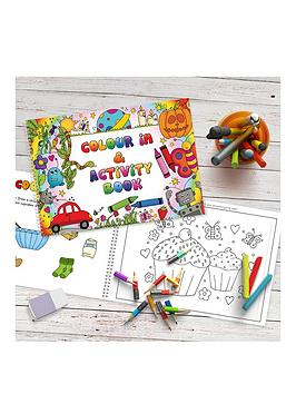 Very Personalised Colour In Activity Book - Colour In And Activity Book A4 Picture