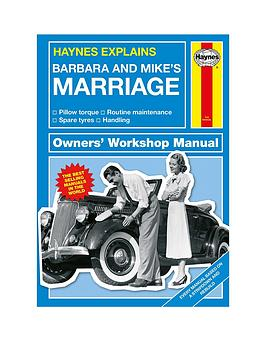 Very Personalised Hayes Explains Marrige Picture