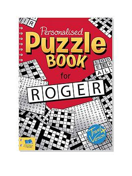 Very Personalised Puzzle Book Picture