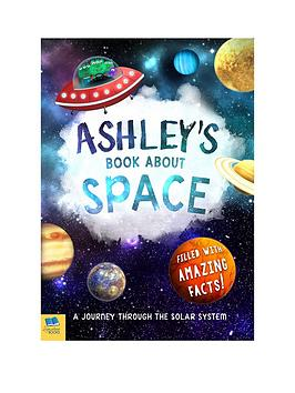 Very Personalised A Book About Space Picture
