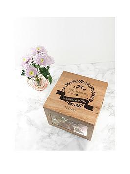 Very Oak Photo Keepsake Box Picture