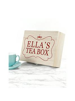 Very Tea Box With Name Picture