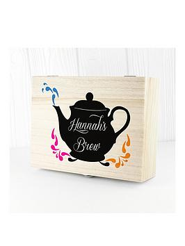 Very My Favourite Brews Tea Box Picture