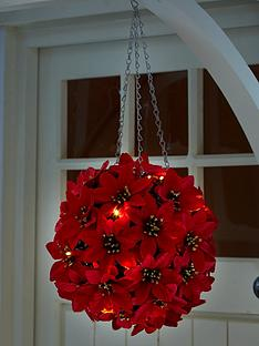 three-kings-30nbspcm-light-upnbsppoinsettia-ball-outdoor-christmas-decoration
