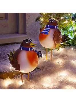 three-kings-set-of-2nbsprockin-robin-large-outdoor-christmas-ornaments