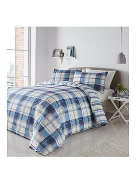 Fusion Fusion Balmoral Duvet Cover Set - Blue Picture
