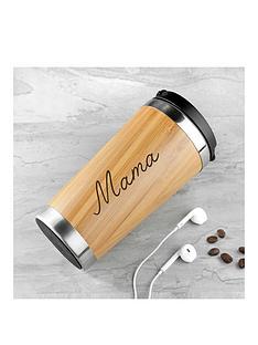 personalised-bamboo-travel-mug
