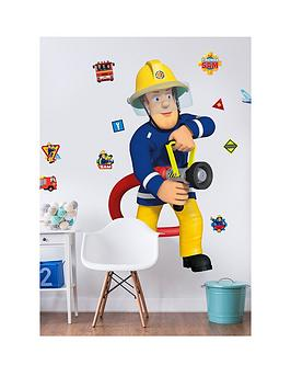Walltastic  Fireman Sam Large Character Wall Sticker