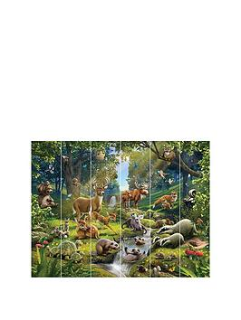 Walltastic Animals Of The Forest Wall Mural