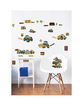 Walltastic Walltastic My First Jcb Muddy Friends Wall Stickers Picture