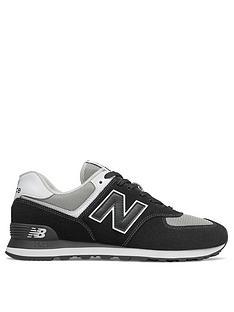 new-balance-574-trainers-blackwhite