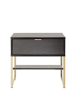 Swift Swift Diego Ready Assembled 1 Drawer Bedside Chest Picture
