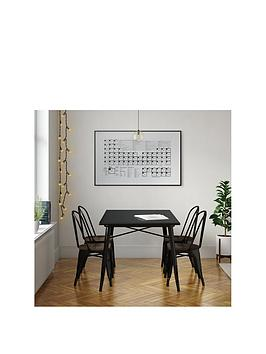 Very Fusion 150 Cm Dining Table + 4 Chairs Picture