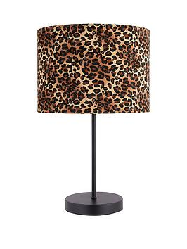 leopard-print-table-lamp