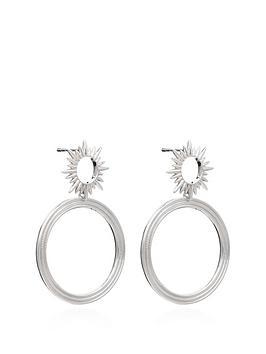 rachel-jackson-london-sterling-silver-electric-goddess-front-facing-hoop