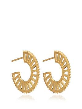 rachel-jackson-london-22ct-gold-plated-silver-queen-of-revelry-mini-hoops