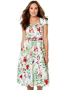 Joe Browns Joe Browns Garden Party Dress - Cream Picture