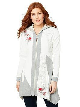 Joe Browns Joe Browns Perfect Poppy Hoody - White Picture
