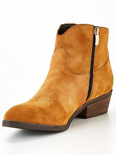 guess-sienna-suede-western-ankle-boots-cognac