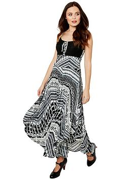 Joe Browns Joe Browns Our Favourite Strappy Dress - Black White Picture