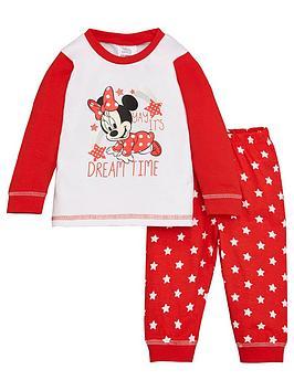 Minnie Mouse Minnie Mouse Baby Girl Minnie Mouse Dream Time Raglan Pjs Picture