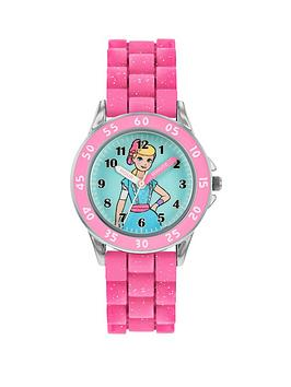 disney-toy-story-little-bo-peep-time-teacher-dial-pink-silicone-strap-kids-watch