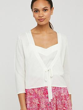 Monsoon Monsoon Octavia Ottoman Tie Cover Up - White Picture