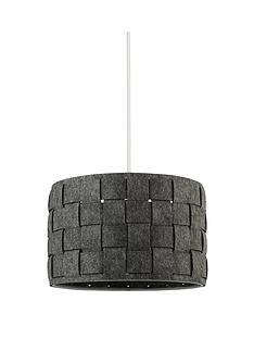 woven-grey-felt-light-shade