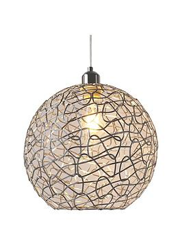 Very Hepburn Chrome Easy Fit Pendant Picture