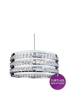 3-light-chrome-beaded-lightnbsppendant