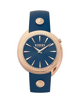 versus-versace-versus-versace-blue-and-gold-detail-dial-blue-leather-strap-ladies-watch