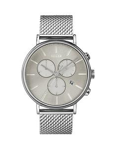timex-timex-fairfield-silver-sunray-chronograph-dial-stainless-steel-mesh-strap-watch