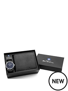 ben-sherman-ben-sherman-black-dial-black-leather-strap-mens-watch-with-wallet-gift-set