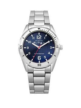 ben-sherman-ben-sherman-blue-dial-stainless-steel-bracelet-mens-watch-with-wallet-gift-set