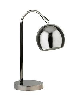 Very  Chrome Arch Table Lamp